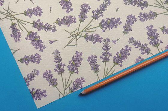 Florentine decorative paper Rossi1931© - Lavender