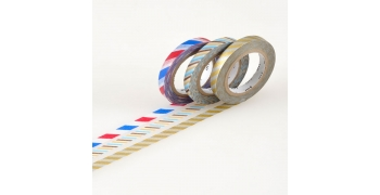 Masking tape Slim hachurés