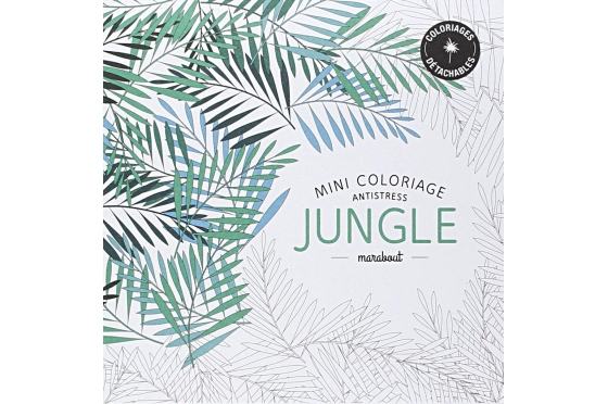 Coloriage Antistress JUNGLE