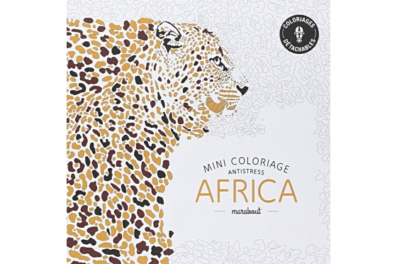 Coloriage Antistress AFRICA
