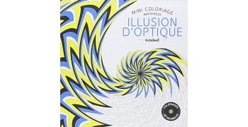 Coloriage illusion optique