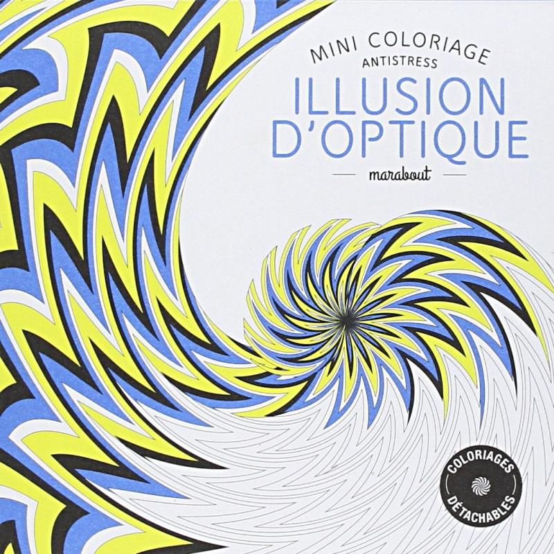 Coloriage illusion optique les papiers de lucas - Coloriage illusion d optique ...