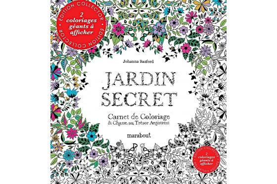 Coloriage jardin secret Collector