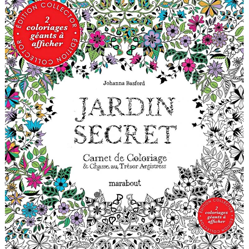 Coloriage Jardin Secret Collector Les Papiers De Lucas