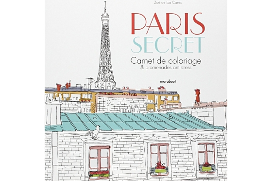 Coloriage Paris secret
