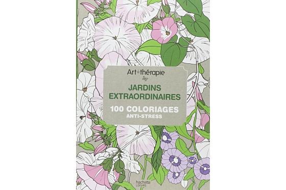 Coloriage Jardins extraordinaires
