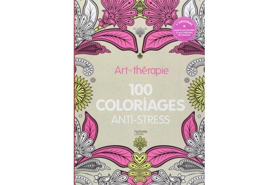 Art-thérapie 100 coloriages fleurs