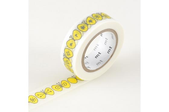 masking-tape mt© Mina Perhonen papillons jaunes