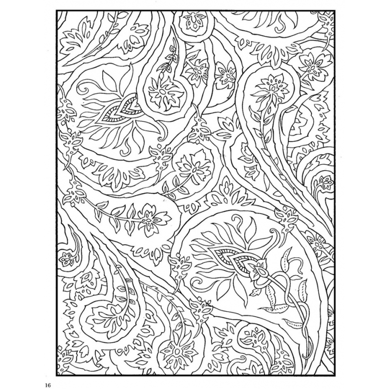 Coloriage floral marty noble les papiers de lucas - Coloriage therapie ...