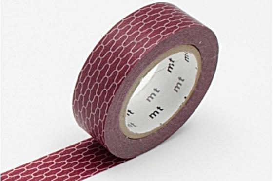 masking-tape deco© alvéoles brique