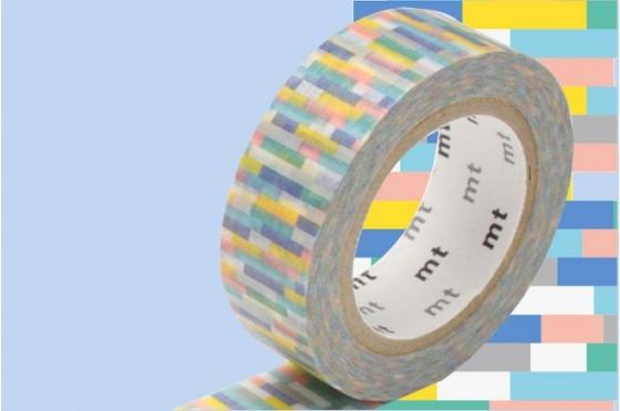 masking-tape deco© pixels bleu