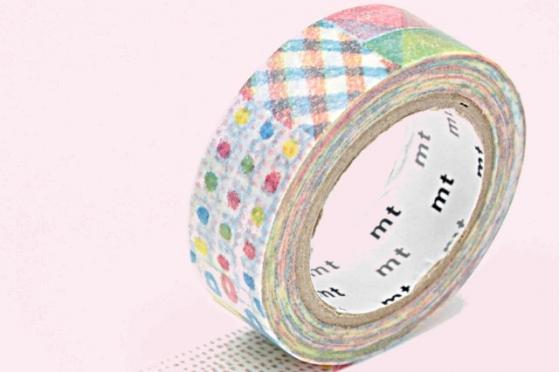masking-tape ex© crayon coloriage