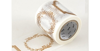 Masking tape étiquettes or