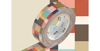 Masking tape mosaiques