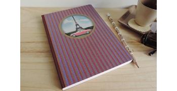Carnet A5 Les cakes de Bertrand©