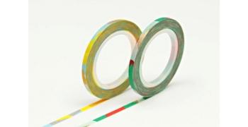 2 Masking Tape MT fins hachurés 3mm