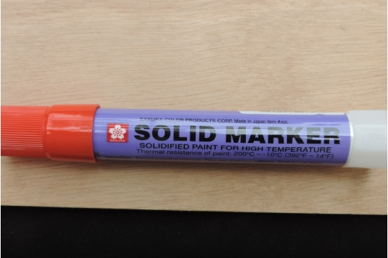 Solid Marker Sakura© - Rouge