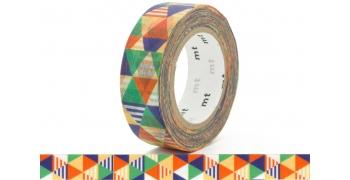 Masking Tape mt Losange bleu Shimasankaku bleu