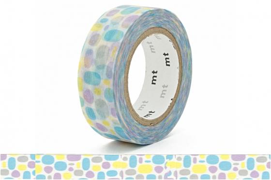 masking-tape deco© Pavé bleu - pool blue