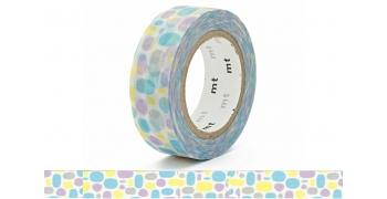 Masking Tape mt Pavé bleu - pool blue