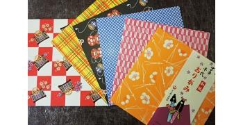 Assortiment 12 feuillets 15 par 15 cm pliage origami