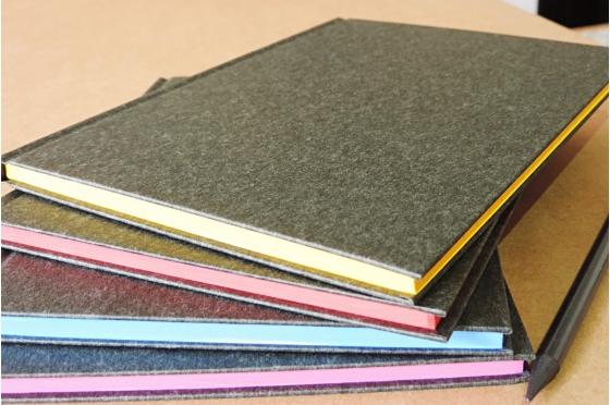 Notebook cahier A5 - Feuilles lignées