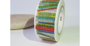 Masking tape livres bibliothèque