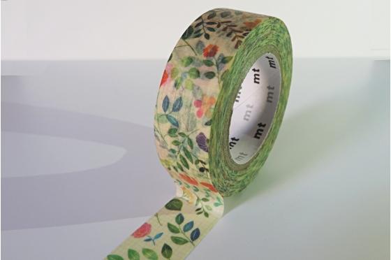 masking-tape ex© fleurs aquarelle