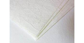 10 FEUILLES A4 - 43g/m2 -Unryu- blanc