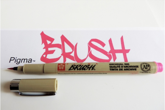 Pigma™ Brush ROSE