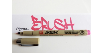 Pigma brush rose
