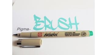 Pigma brush vert