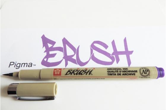Pigma™ Brush PURPLE/VIOLET
