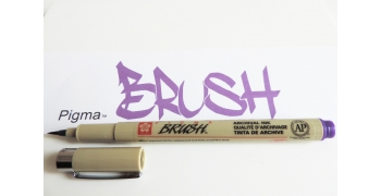 Pigma brush PURPLE/VIOLET