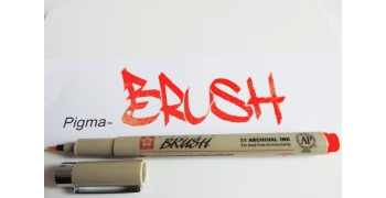Pigma™ Brush RED/ROUGE