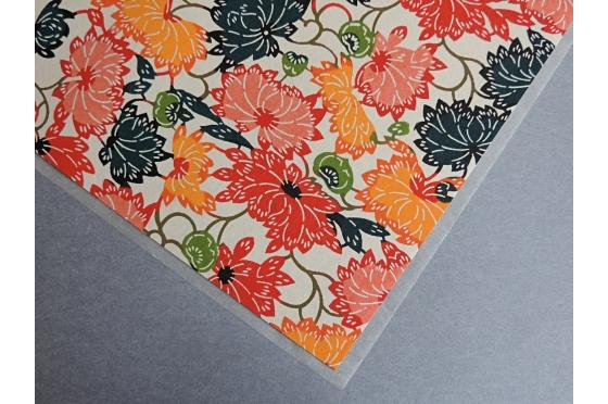 KATAZOME fleurs format A4