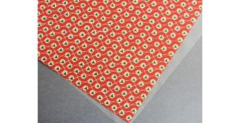 Papier florentin - pastille delta rouge