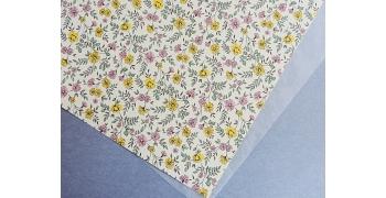 Papier florentin - liberty jaune rose