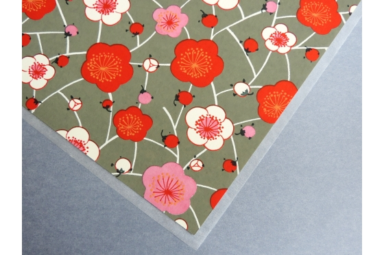 Papier Yuzen cerisiers
