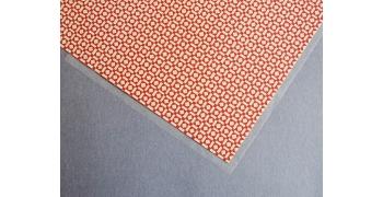 Papier florentin - losange rouge