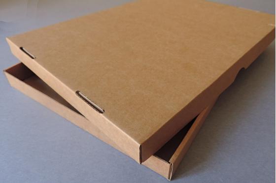 Boites carton Kraft - A4 - Fermeture américaine