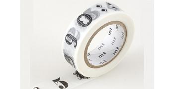 masking-tape deco© cutter - Chiffres et symboles