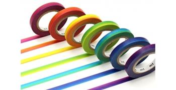 7 masking tape slim© rainbow