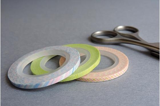 3 masking-tape slim© fins pastels 3mm