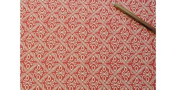 Papier florentin - Pieuvres rouge