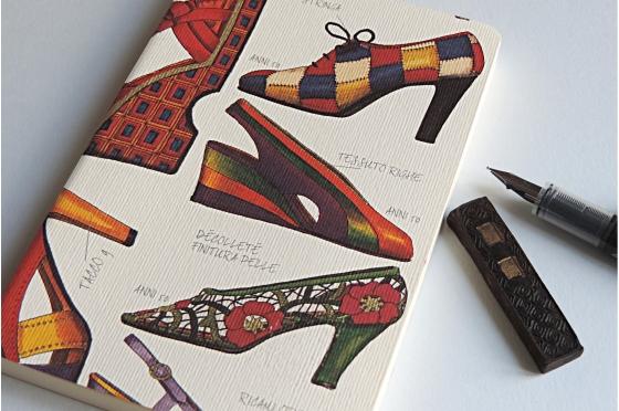 Cahier souple shoes Rossi1931 format A5 ou A6