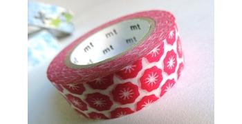masking-tape ex© flower stamp