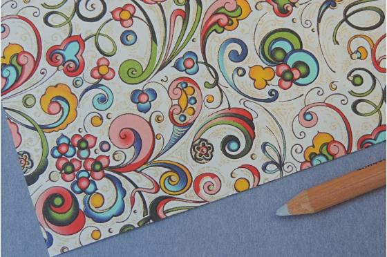 Papier décoratif Rossi1931© - Envolée florale
