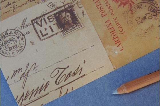 Papier décoratif Rossi1931© - Cartes postales