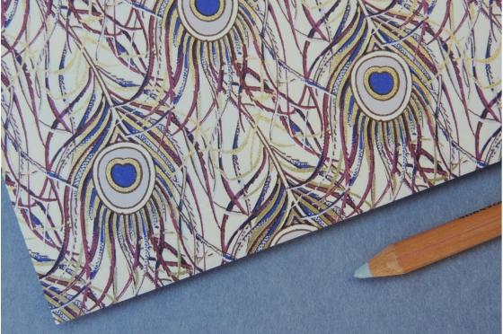 Papier décoratif Rossi1931© -  Plumes de paon